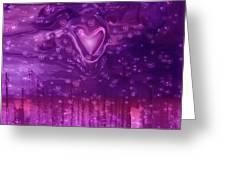 Cosmic Love Greeting Card