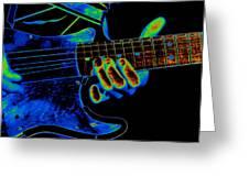 Cosmic String Bender Greeting Card