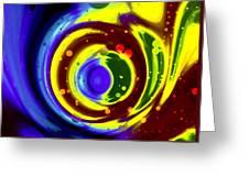 Cosmos Drift Greeting Card