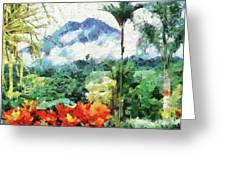 Costa Rica Paradise Greeting Card