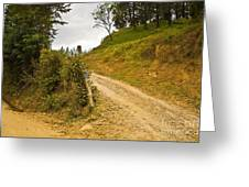 Costa Rica Path Greeting Card