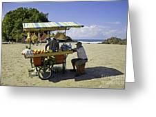 Costa Rica Vendor Greeting Card