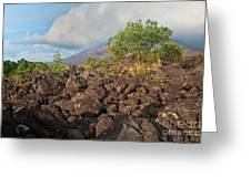 Costa Rica Volcanic Rock II Greeting Card