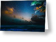 Costa Rican Starscape Greeting Card