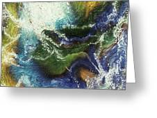 Costal Storm Greeting Card