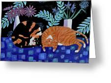 Cosy Companions Greeting Card