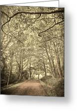 Cosy Path Greeting Card