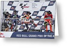 Cota 2016 Podium Greeting Card
