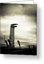 Cota Tower Greeting Card