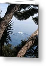 Cote D Azur Greeting Card