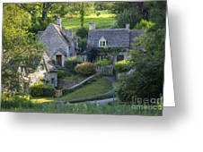 Cotswold Cottages Greeting Card