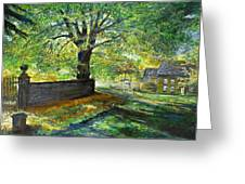Cotswold Lane  Greeting Card