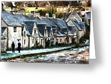 Cotswold Scene Greeting Card