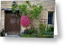 Cotswolds Milk Delivery Greeting Card