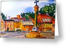 Cotswolds Town Center Greeting Card
