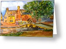 Cotswolds Town Study Greeting Card