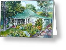 Cottage At Chautauqua Greeting Card