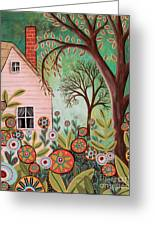 Cottage Garden 1 Greeting Card
