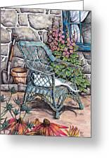 Cottage Garden Greeting Card