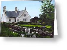 Cottage, Graiguenamanagh Greeting Card