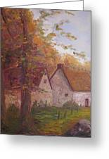 Cottage On The Moors Greeting Card