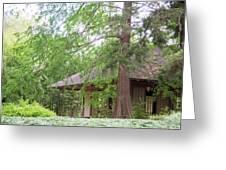 Cottage Orange Island  Louisiana  Greeting Card