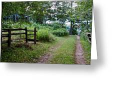 Cottage Path Greeting Card
