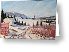 Cottage Road Greeting Card