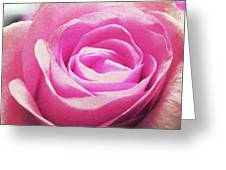 Cotton Candy Pink Greeting Card