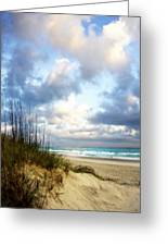 Cotton Candy Sunrise 1 Greeting Card