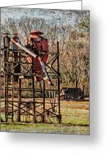 Cotton Gin In Vincent Alabama Greeting Card