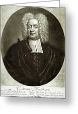 Cotton Mather 1663-1728 Greeting Card