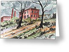 Cotton Mill Greeting Card