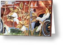 Cotton Truck Greeting Card