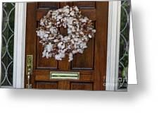 Cotton Wreath Greeting Card