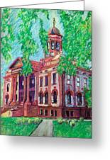 Cottonwood County Courthouse  Greeting Card