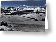 Cottonwood Pass Greeting Card