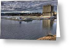 Couer D'alene Resort 3 Greeting Card