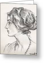 Countess Margaretta Greeting Card
