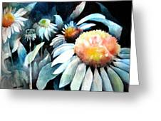 Counting Coneflowers Greeting Card