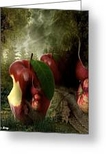 Country Apple 2 Greeting Card