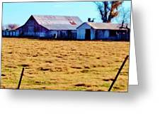 Country Barn And Shed Greeting Card