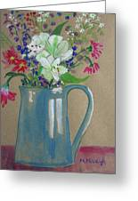 Country Bouquet Greeting Card