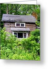 Country Cabin Greeting Card