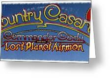 Country Casanova Greeting Card
