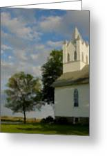 Country Chuch Greeting Card