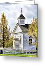 Country Church At Old World Wisconsin Greeting Card