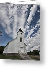Country Church Greeting Card