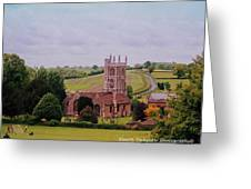 Country Church Wadsworth, England Greeting Card