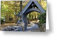 Country Churchyard Greeting Card
